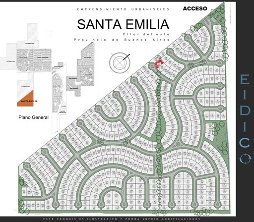 Santa Emilia, Lote 135