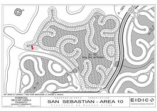Area 10 Nuestra Señora de Fatima, LOTE 34